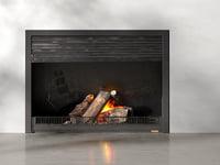 fireplace door 3D