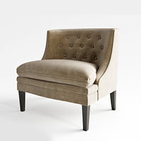 bernhard amber chair 3D