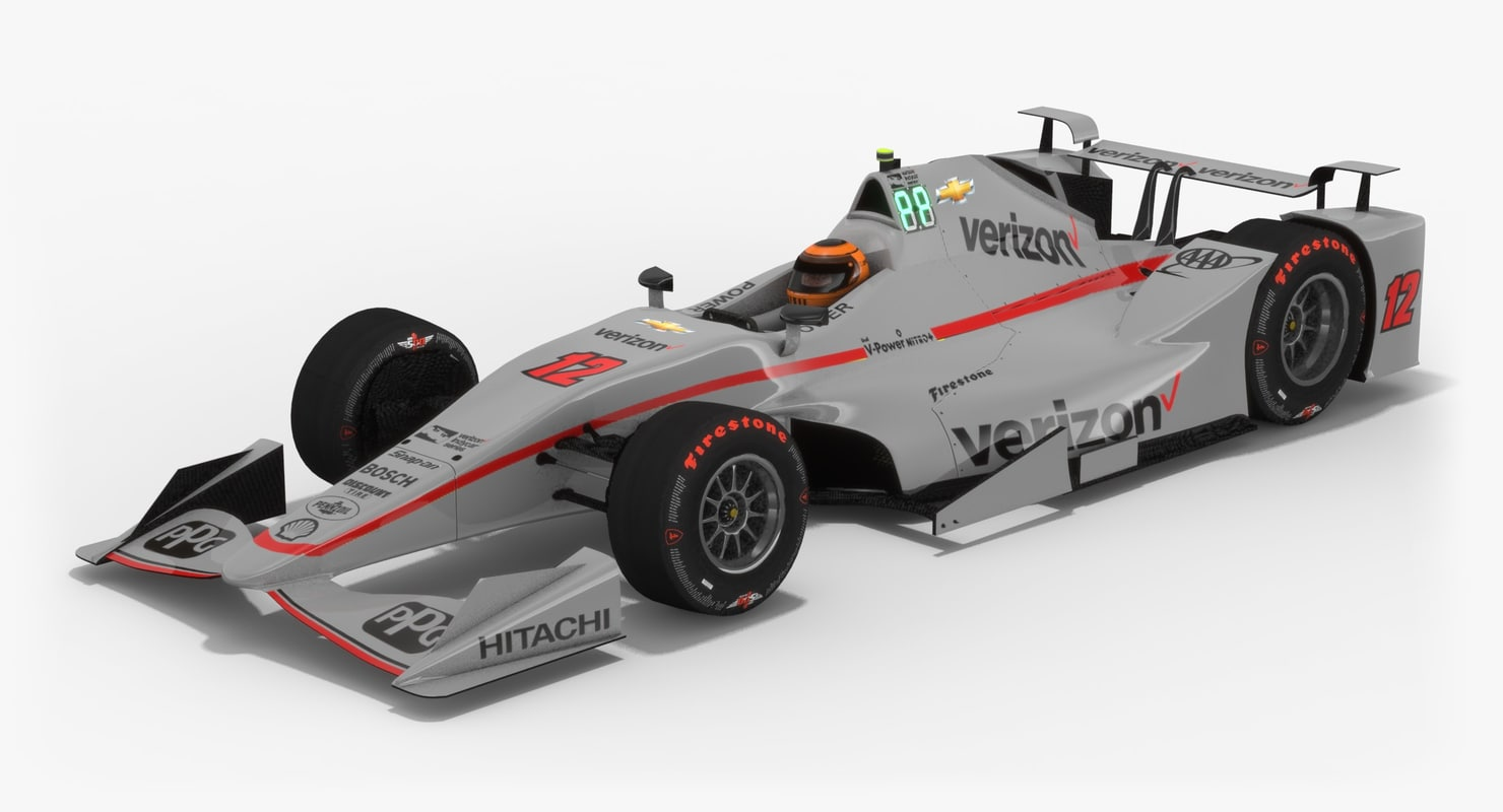 power indy season 2017 3D model