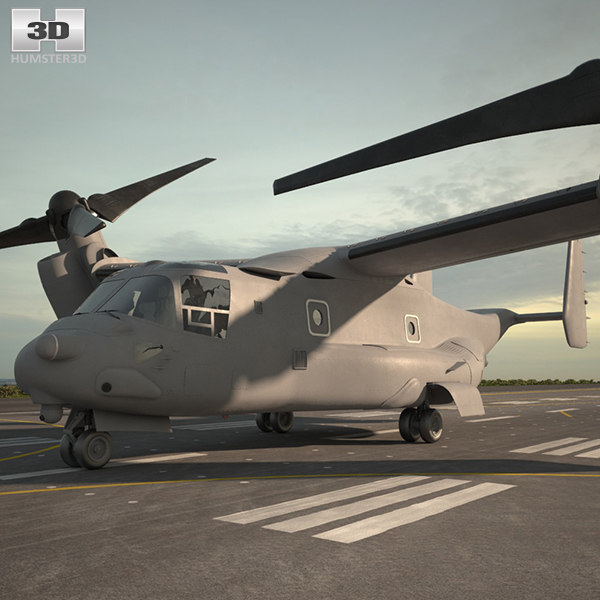 boeing bell osprey 3D
