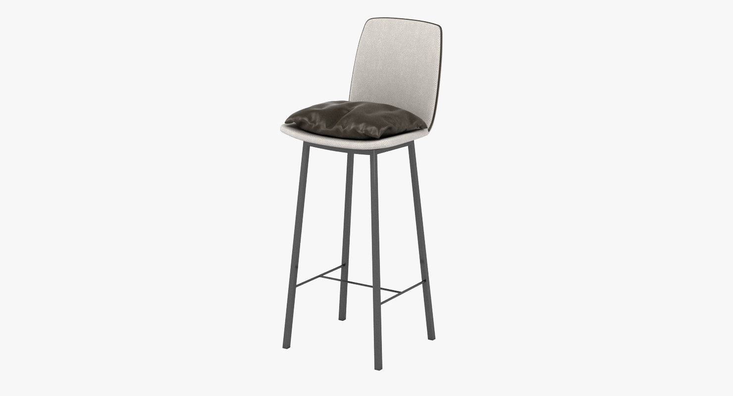 kff lhasa bar stool 3D