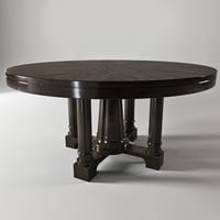3D model sutton house dining table