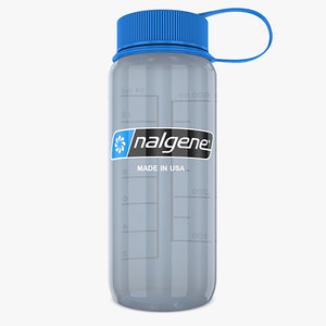 nalgene bottle 3D model