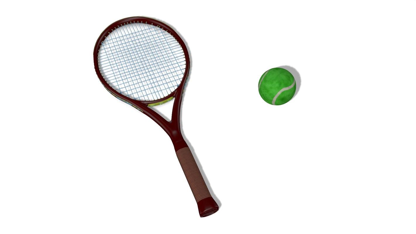 tennis ball rig model