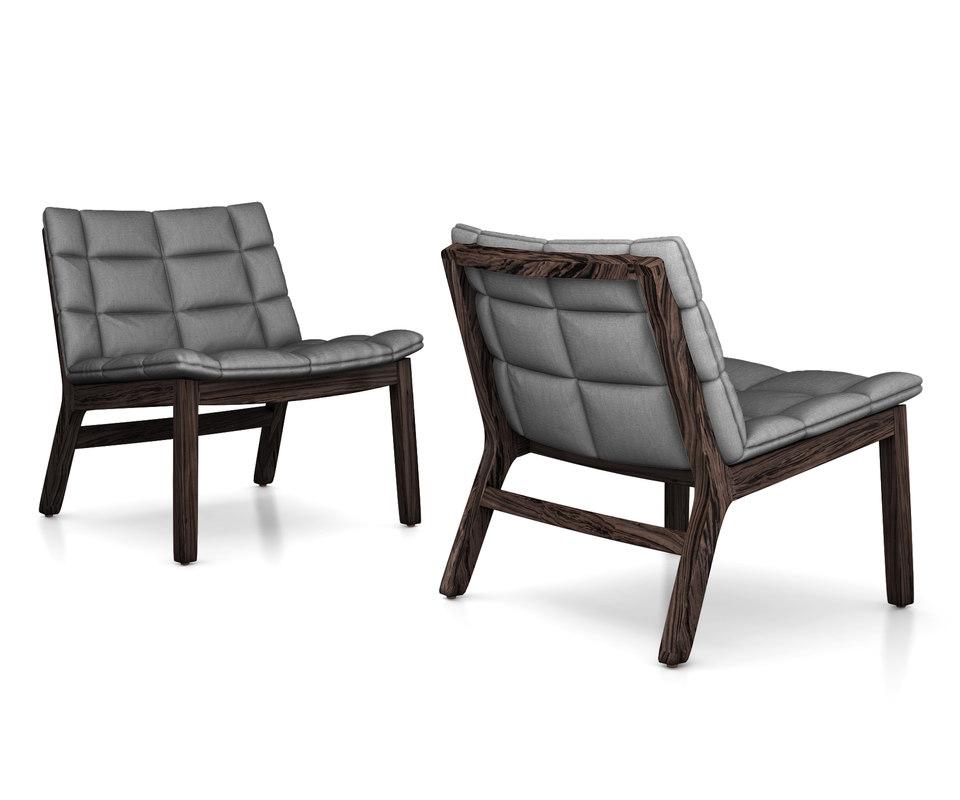 chair dot lounge 3D model