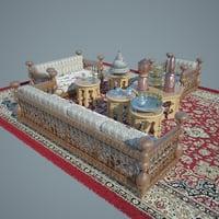 3D model set