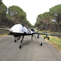 drone poser 3D model