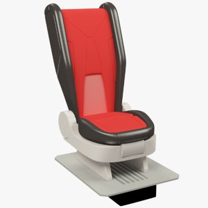 space ship seat 3D