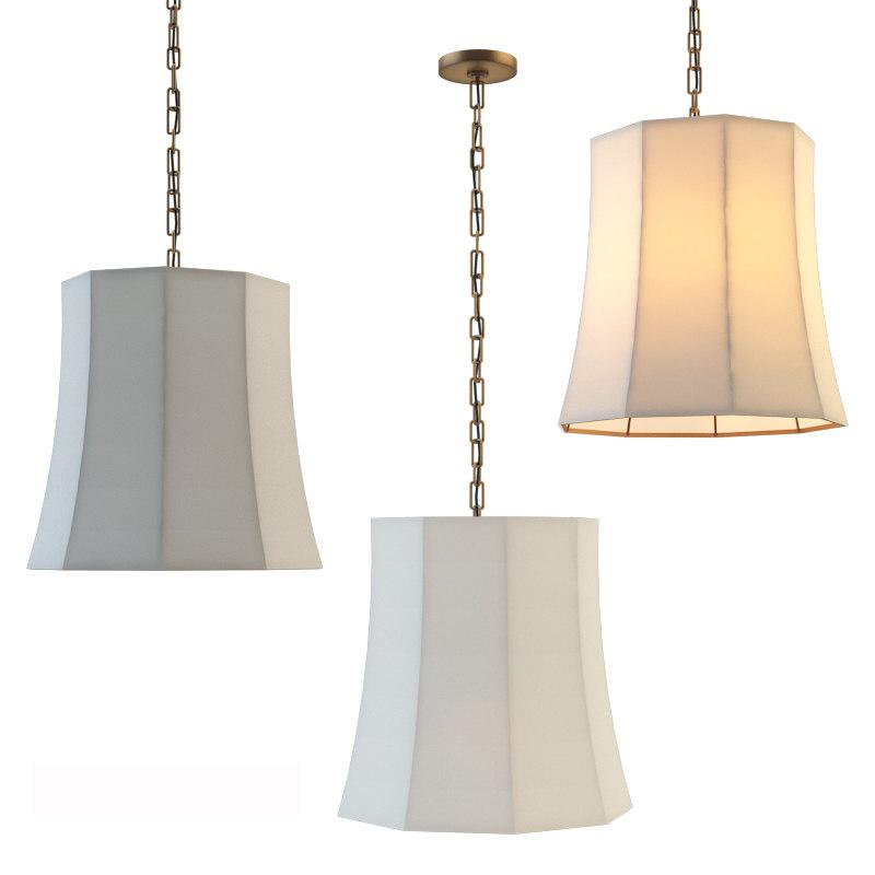3D chandelier peter crown hanging model