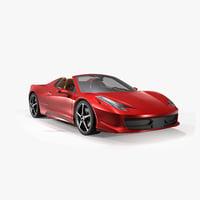 3D model car sport