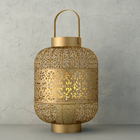 3D lantern paulina zara home model