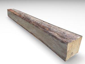 wood board 3D model