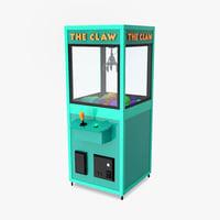 arcade claw model