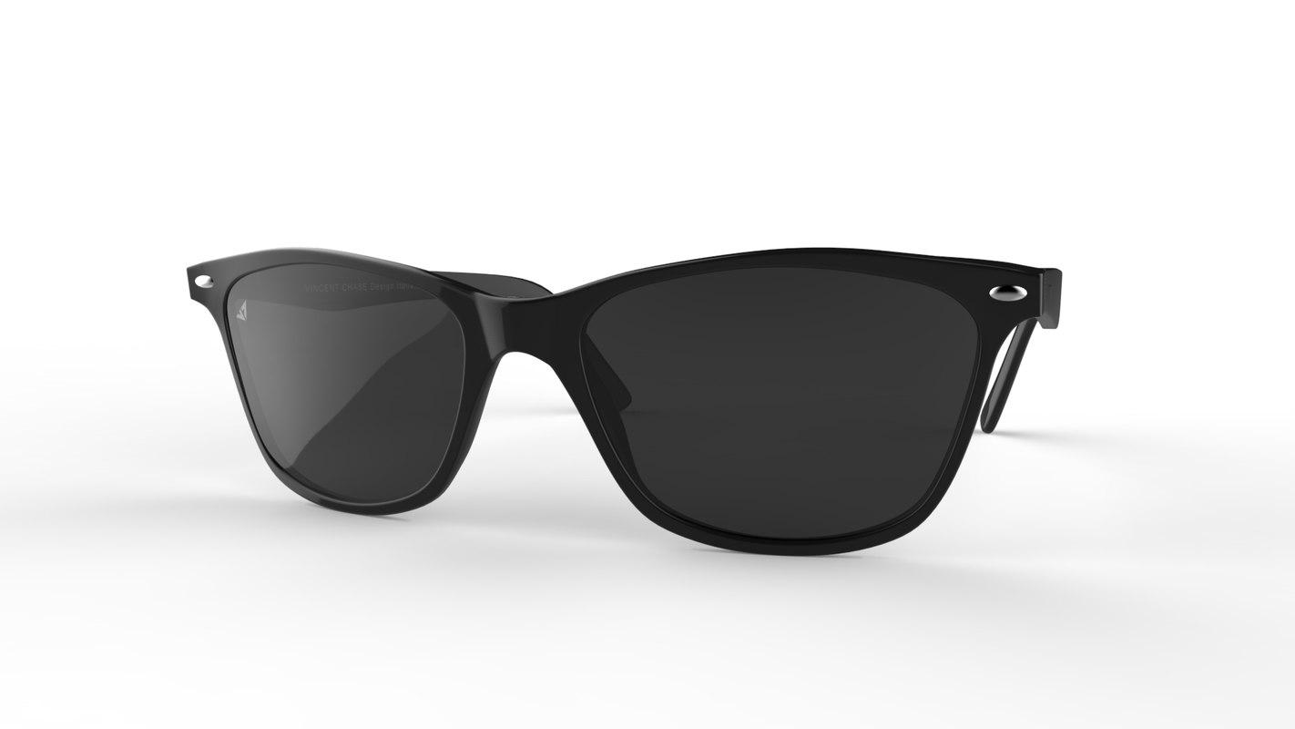 sunglasses vincent chase 3D model