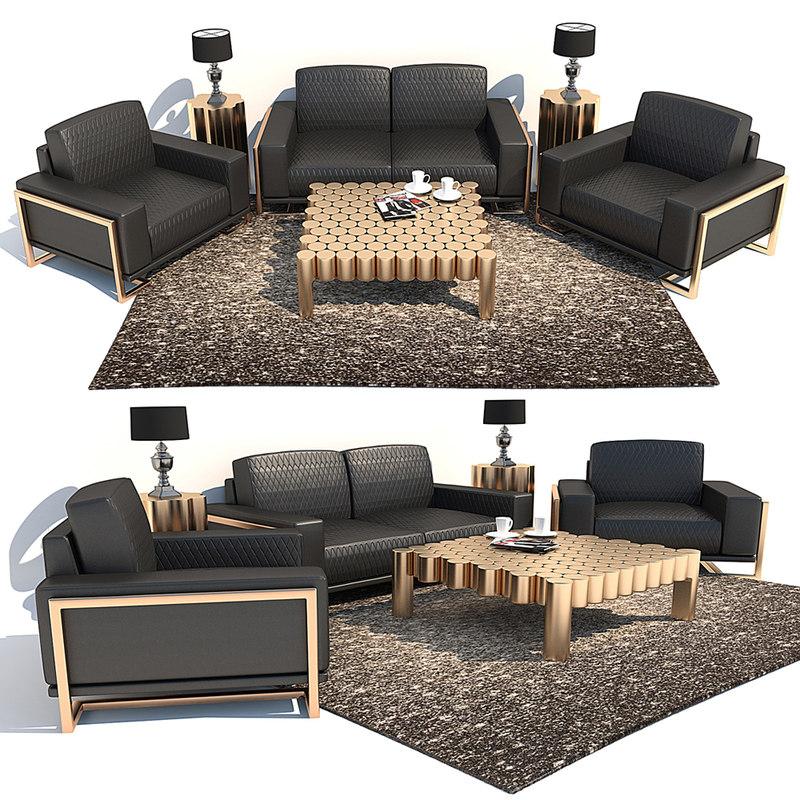 sofa aico michael amini model