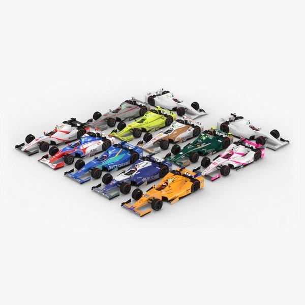 3D pack indycar season 2017