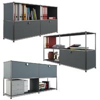 3D usm storage modular