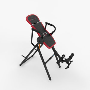exercise inversion table 3D model