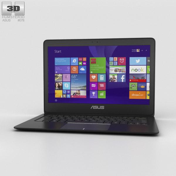 3D model asus zenbook ux305