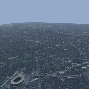 london thames 3D