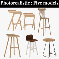 3D Barstool Models | TurboSquid