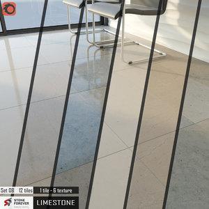 tile stone forever set 3D model