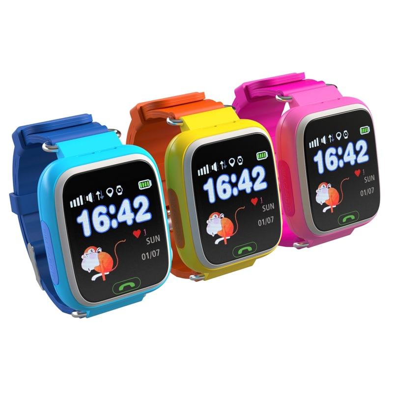 3D digital smart baby watch