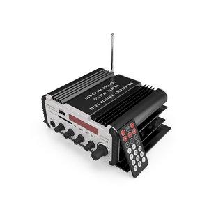 mini karaoke power amplifier 3D