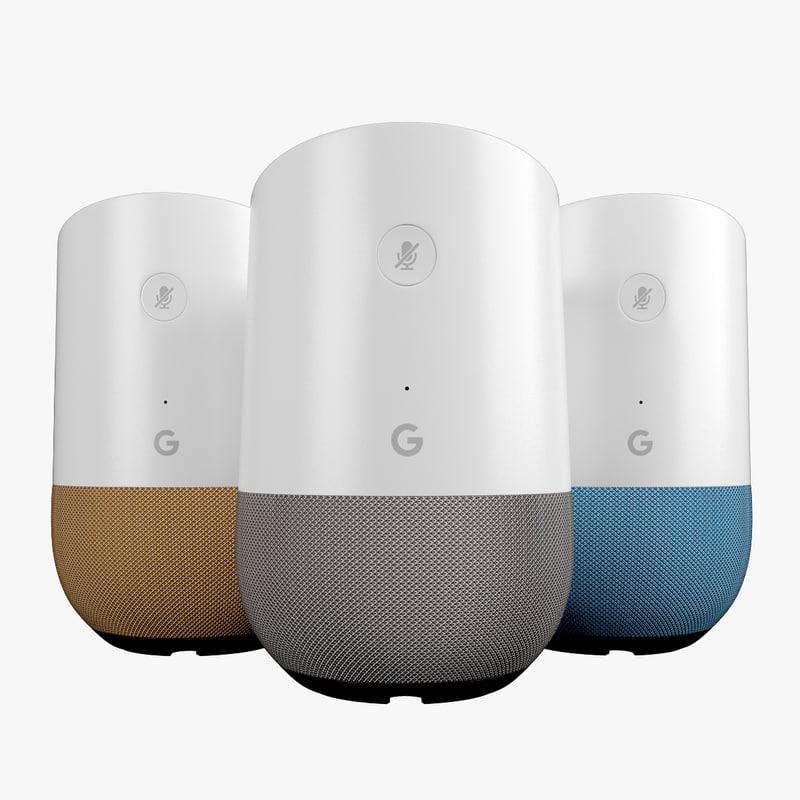 3D google home set