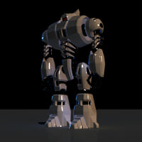Full Body Rigged Robot