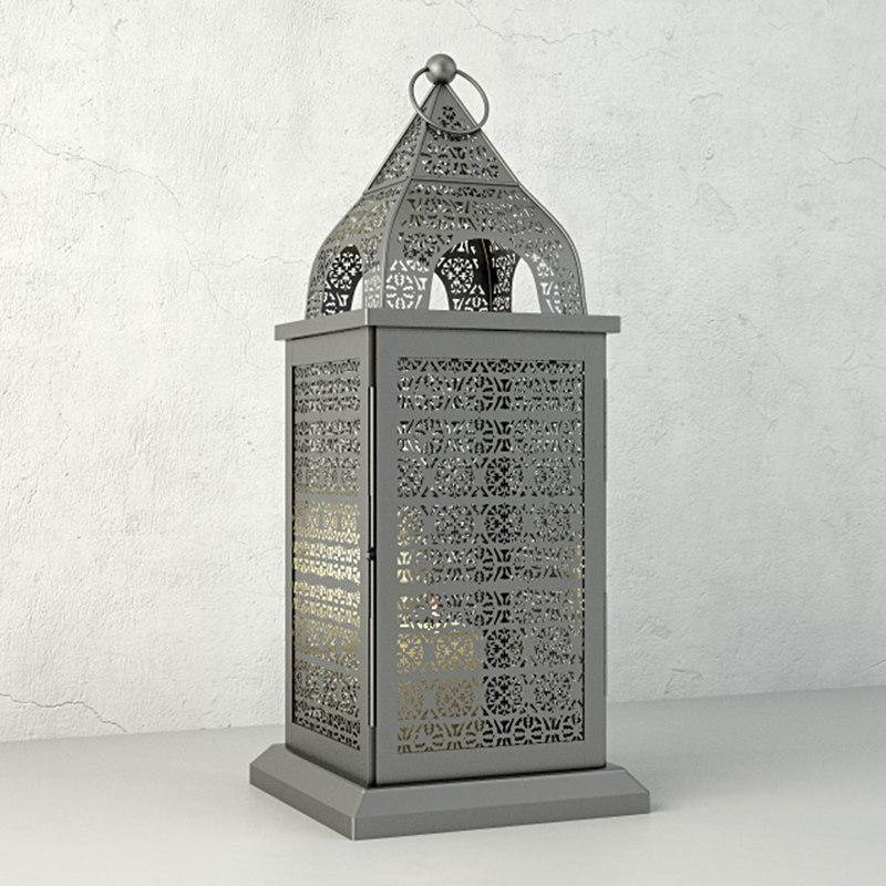 3D penta lantern home model