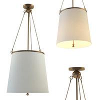 chandelier westport hanging shade 3D model