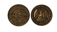 Dragon old coin