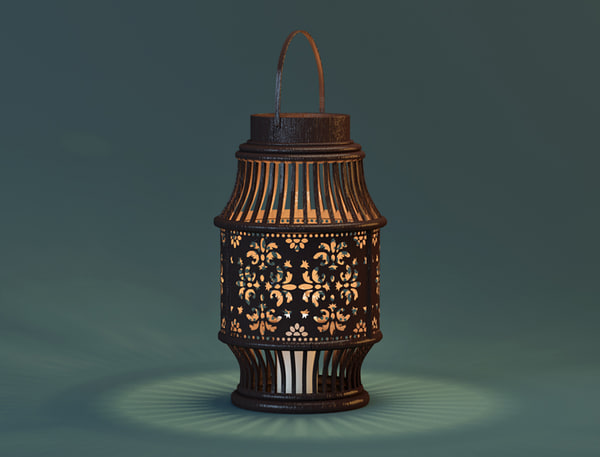 alli lantern zara home 3D model