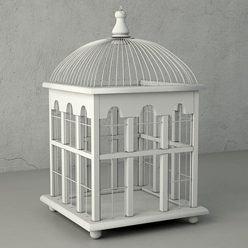 3D molly decorative cage zara