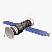 sci fi satellite 05 3D model