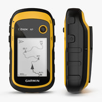 waterproof hiking gps garmin 3D model