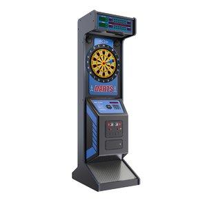 arcade dart 3D model