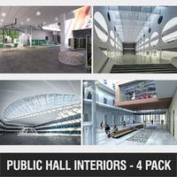 public halls model