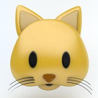 cat icon 3D