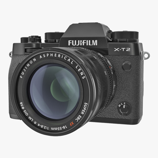 3D model mirrorless digital camera fuji