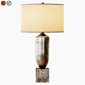 silversmith table lamp 3D model