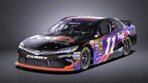 3D car toyota 2017