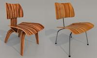 vitra eames chair 3D model
