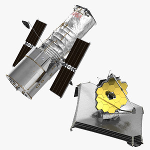 space telescopes hubble james model
