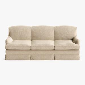 sofa chair howard 3D model