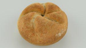 scan bread roll - 3D