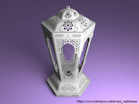 3D model islamic lantern