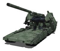 zeon 3D model