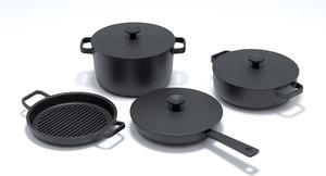 country pots sets cookwares 3D model